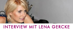 Interview mit Lena Gercke