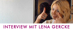 Interview mit Lena Gercke Mexx Weihnachtsbckerei