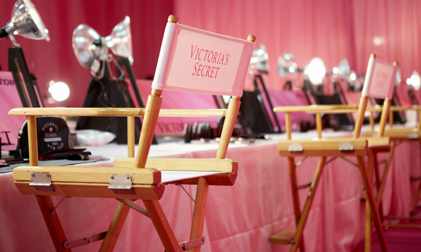 Backstage bei der Victoria's Secret Fashion Show